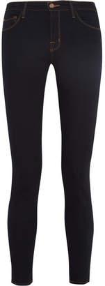 J Brand 811 Mid-rise Skinny Jeans - Dark denim
