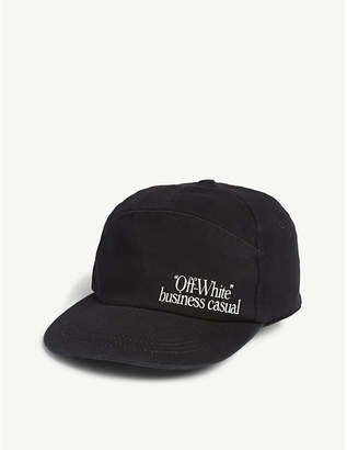 Off-White Business Casual snapback cap