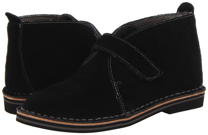 Cole Haan Air Paul Strap (Toddler/Little Kid/Big Kid) (Black) - Footwear