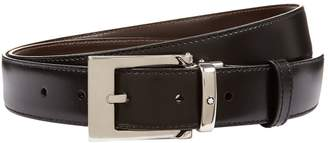 Montblanc Reversible Smooth Leather Belt