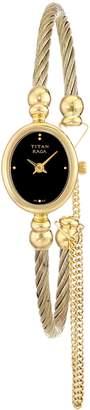 Titan Women's 197YM05 Raga Inspired Gold Tone Watch