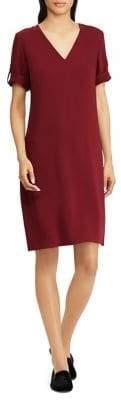 Lauren Ralph Lauren Classic V-Neck Shift Dress