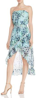 Ramy Brook Manon Strapless Silk Dress