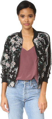Joie Mace Bomber $428 thestylecure.com