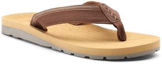 Men's Vintage Stone Basic Thong Flip-Flop Sandals