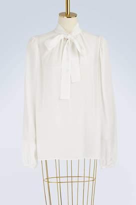 Dolce & Gabbana Silk logo shirt