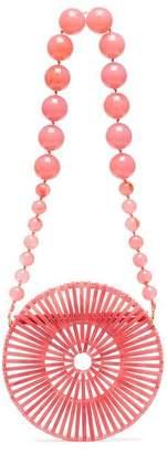 Cult Gaia pink luna shoulder bag
