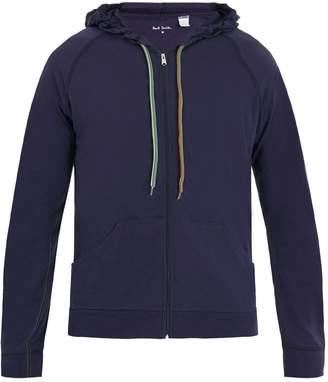 Paul Smith Zip-through hooded cotton-jersey sweatshirt