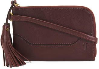 Paige Leather Wristlet