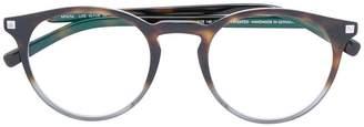 Mykita faded tortoiseshell glasses