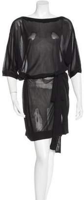 Stella McCartney Dolman Sheer Dress w/ Tags