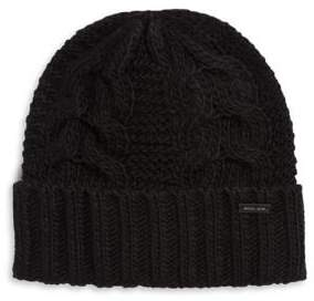 Michael Kors Cable-Knit Beanie