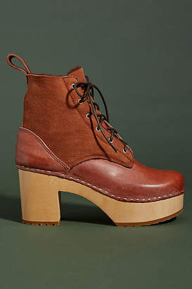 Swedish Hasbeens Hippie Lace-Up Boots