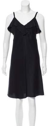 A.L.C. Sleeveless Ruffle-Trimmed Dress w/ Tags