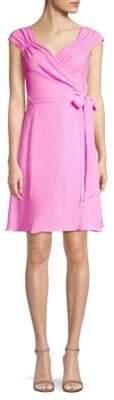 Milly Emma Wrap Tie Dress
