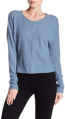 Susina Cozy Ribbed Cropped Sweater