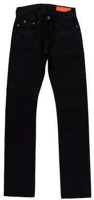 Jean Shop Mid-Rise Straight-Leg Jeans