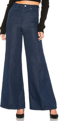 Free People Super High Rise Wide Leg Jean.