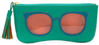 Sarah Chofakian leather sunglasses case