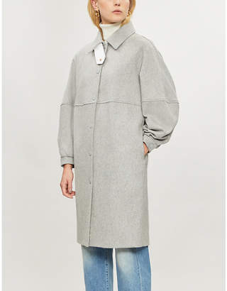 See by Chloe City wool-blend coat