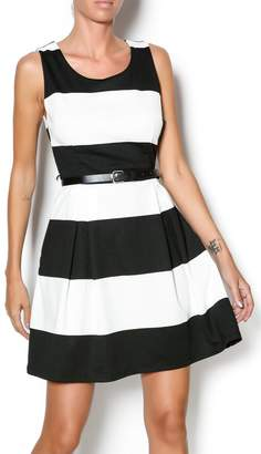Double Zero Fit And Flare Dress