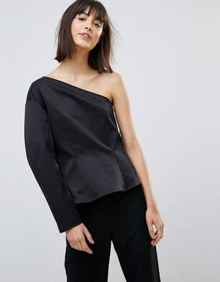 Weekday Press Collection Rogue One Shoulder Top