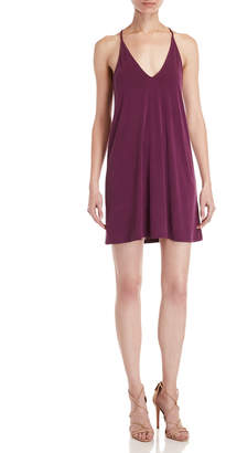 Double Zero V-Neck Racerback Dress