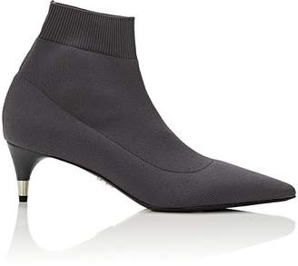 Prada Women's Stretch-Knit Ankle Boots