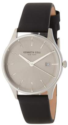 Kenneth Cole New York Women's Leather Watch, 35mm