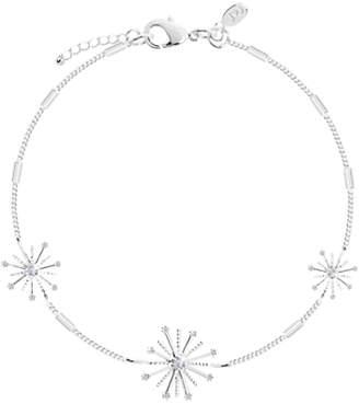 Charm & Chain Joma Firework Charm Chain Bracelet, Silver