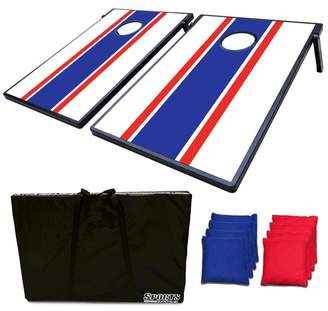 DAY Birger et Mikkelsen FestivalDepot 2-in-1 Bean Bag Toss Game and Tic Tac Toe Cornhole