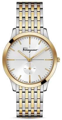 Salvatore Ferragamo Slim Formal Two-Tone Watch, 40mm