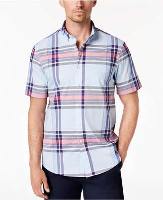 Club Room Men's Vance Plaid Shirt, Created for Macy's
