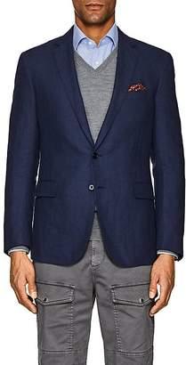 Ralph Lauren Purple Label Men's Nigel Herringbone Linen-Wool Two-Button Sportcoat
