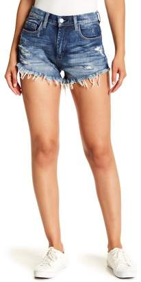 Blank NYC BLANKNYC Denim Wedge Cutoff Denim Shorts