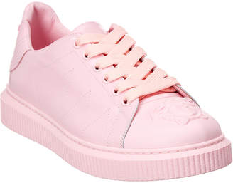 Versace Nyx Leather Low-Top Sneaker