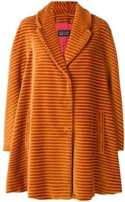 Gianluca Capannolo textured stripe coat