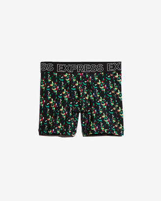 Express Geometric Print Performance Boxer Briefs