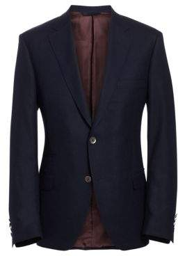 Saks Fifth Avenue COLLECTION BY SAMUELSOHN Classic-Fit Wool Travel Blazer