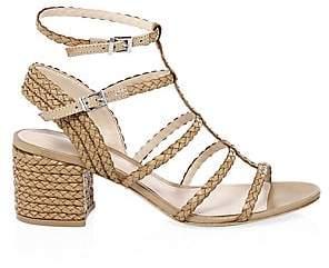 Schutz Women's Clarcie Block Heel Sandals