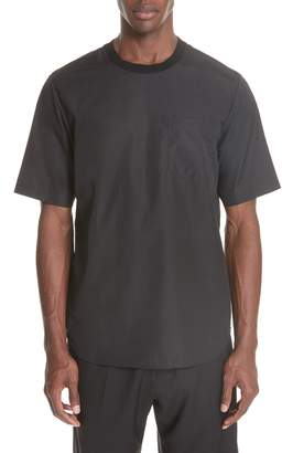 3.1 Phillip Lim Cotton Poplin T-Shirt