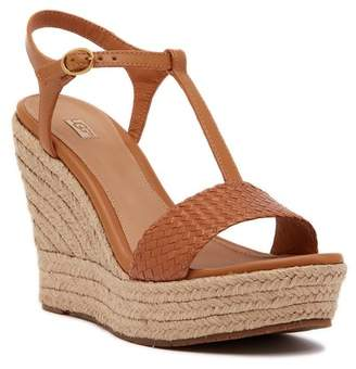 UGG Fitchie II Espadrille Wedge Sandal