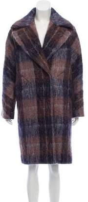 Trina Turk Wool-Blend Notch-Lapel Coat