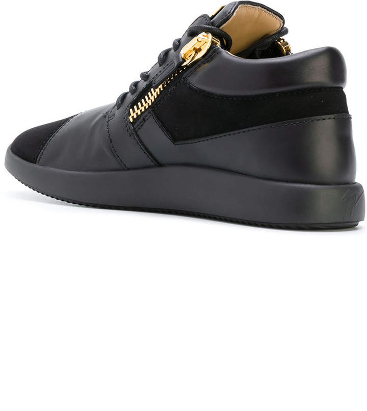 giuseppe zanotti design melly mid top sneakers shopstyle. Black Bedroom Furniture Sets. Home Design Ideas