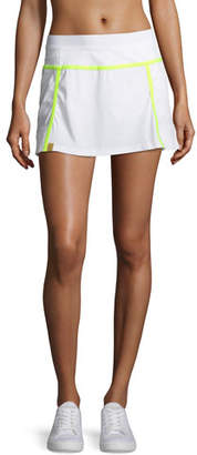 Monreal London Player Pleated Performance Mini Skirt with Built-in Shorts