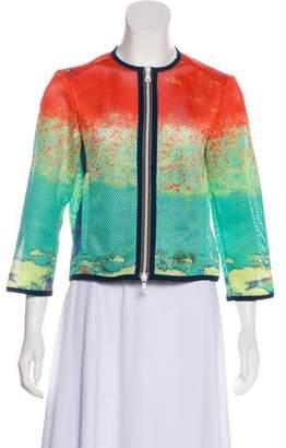 Prada Sport Printed Mesh Jacket