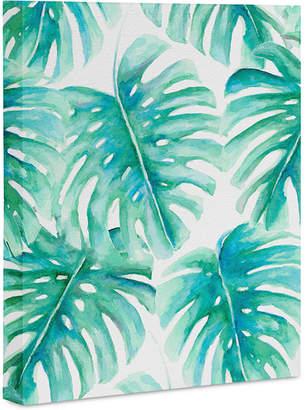 "Deny Designs Jacqueline Maldonado Paradise Palms Art Canvas 16x20"""