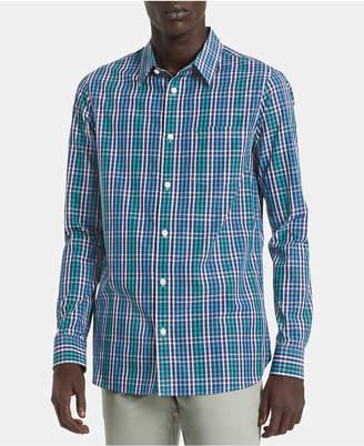 Calvin Klein Men Big & Tall Slim-Fit Plaid Shirt