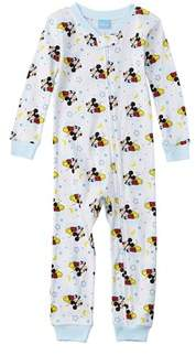 Character Sleepwear Boys' Mickey Mouse Coverall.