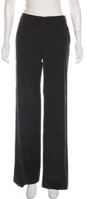 Armani Collezioni Corduroy Mid-Rise Pants Black Corduroy Mid-Rise Pants